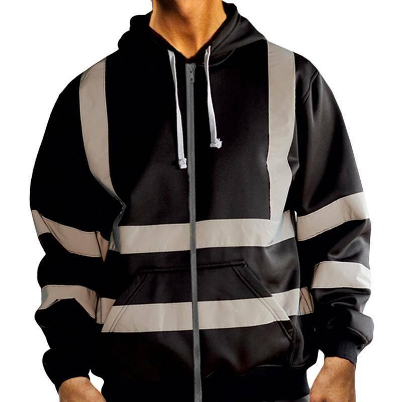 HI VIS Safety Hoodie Sweatshirt
