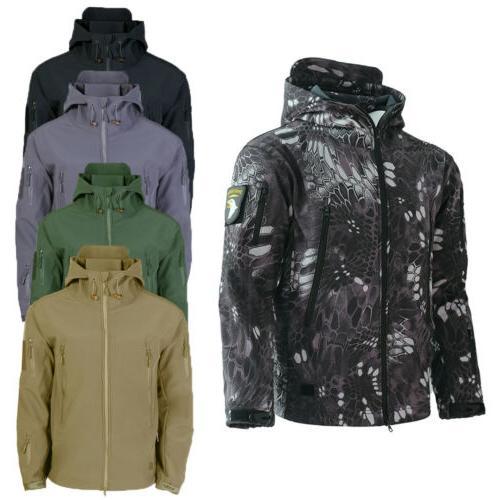 HOT Sale Tactical Soft Shell Mens Jacket