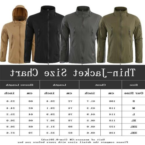 HOT Sale COMBAT Tactical Soft Shell Jacket Coat