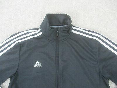 Adidas Jacket Medium Black White Full Zip B73
