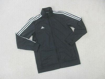 Adidas Medium Black White Full Zip Track Mens B73