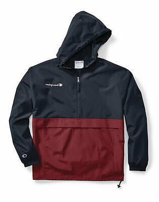 Champion Jacket Colorblocked Packable Wind Scuba Hood