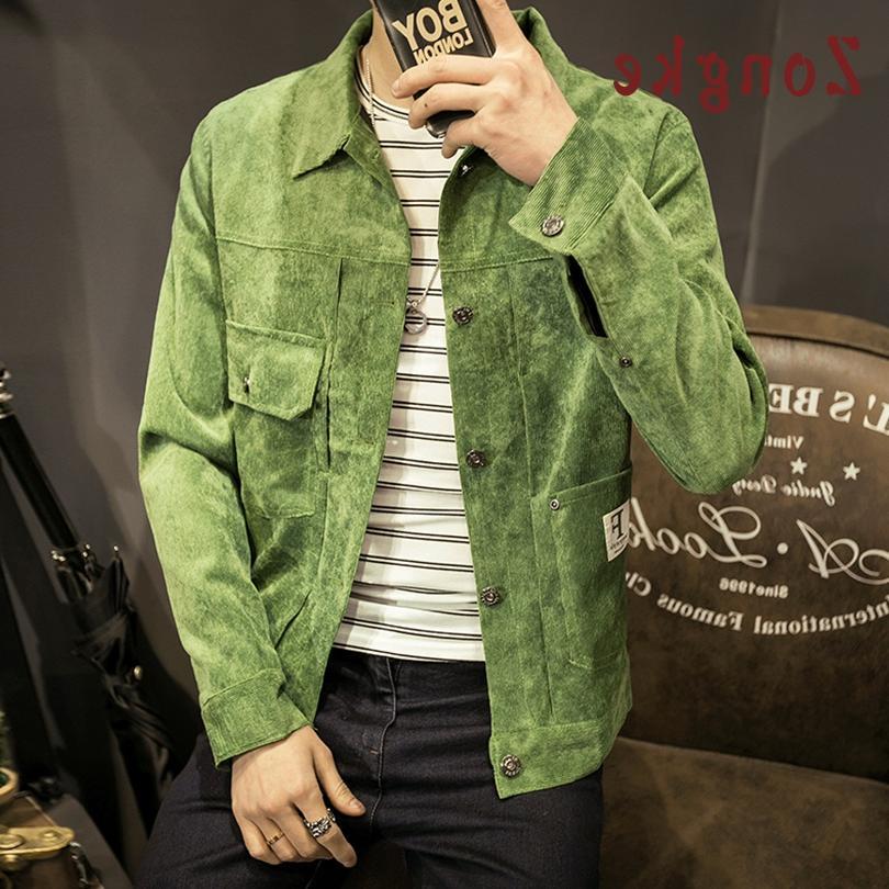 japan style corduroy font b jacket b