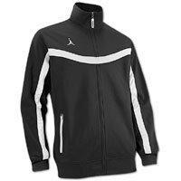 Jordan Mens Team Jacket Small Black/White
