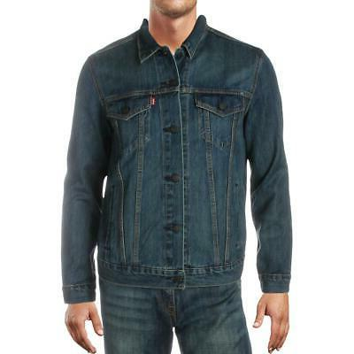 levi strauss and co mens trucker jean