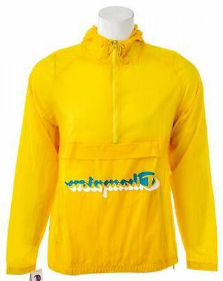 life anorak yellow men s jacket