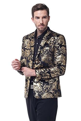 Men's luxury Casual Dress Suit Blazer