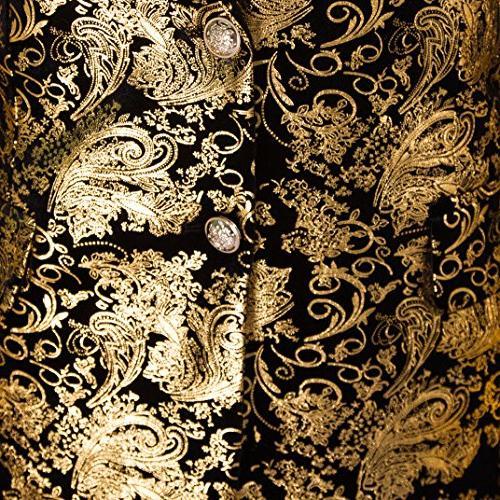 Men's Suit Fit Blazer Golden Large