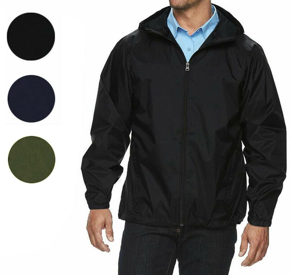 maximos men s water resistant hooded lightweight