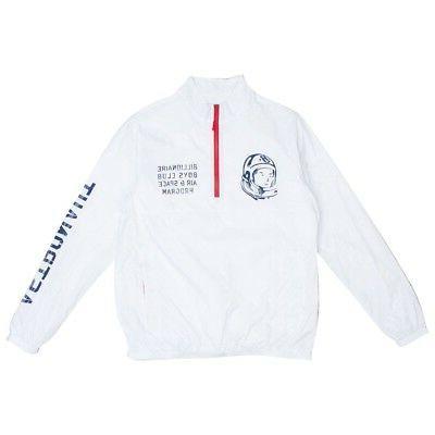 men blast jacket white