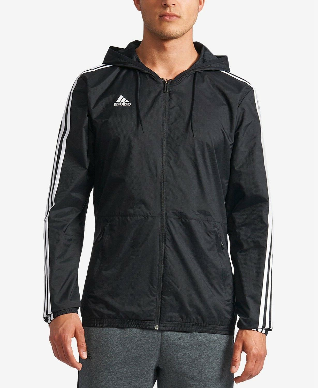 men essentials 3 stripes wind jacket running