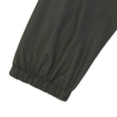 Men Hooded Water Resistant Lightweight Zipper Outdoor Sports