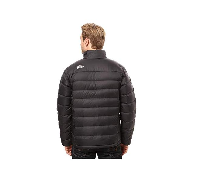 The North Aconcagua Jacket TNF Black Down Sz S-2XL