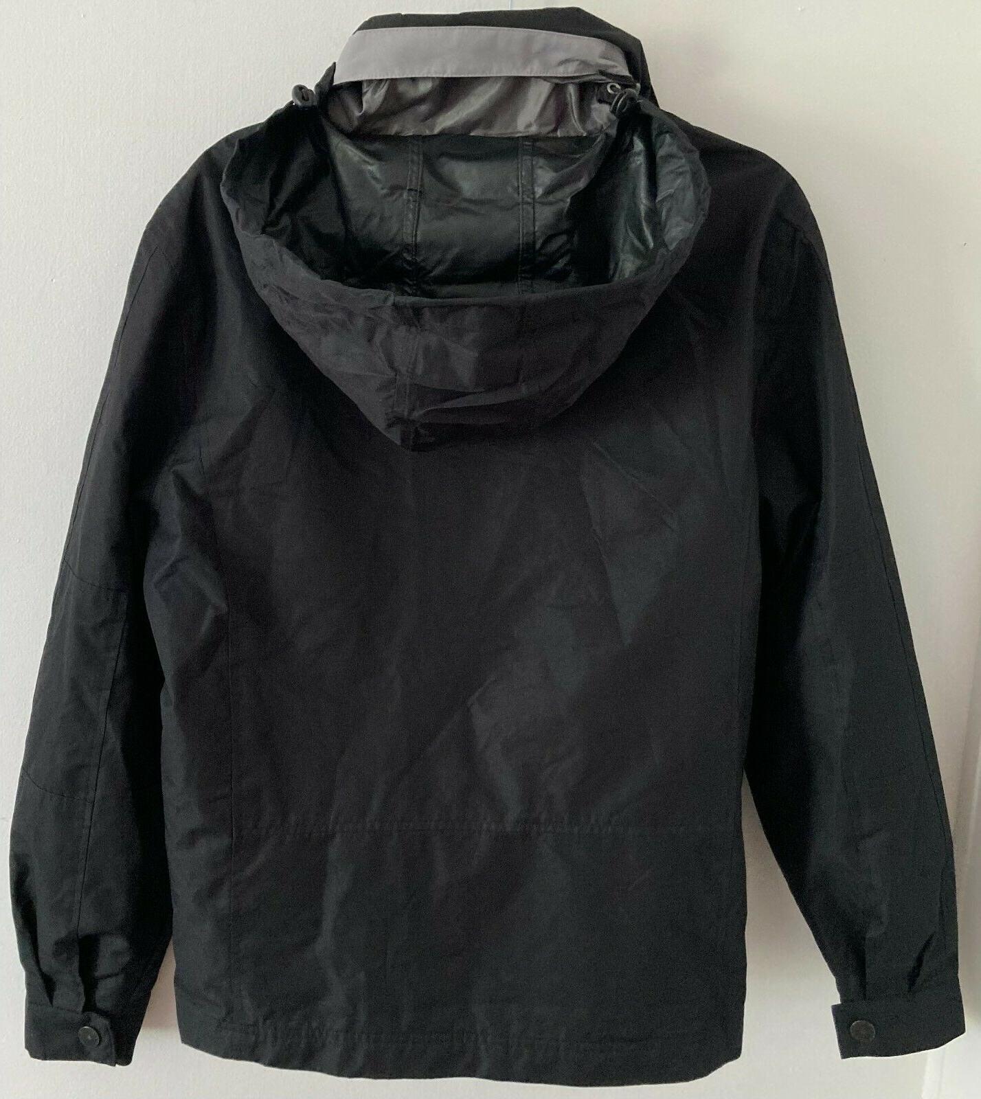 London Fog Bomber Style Jacket Hidden Small