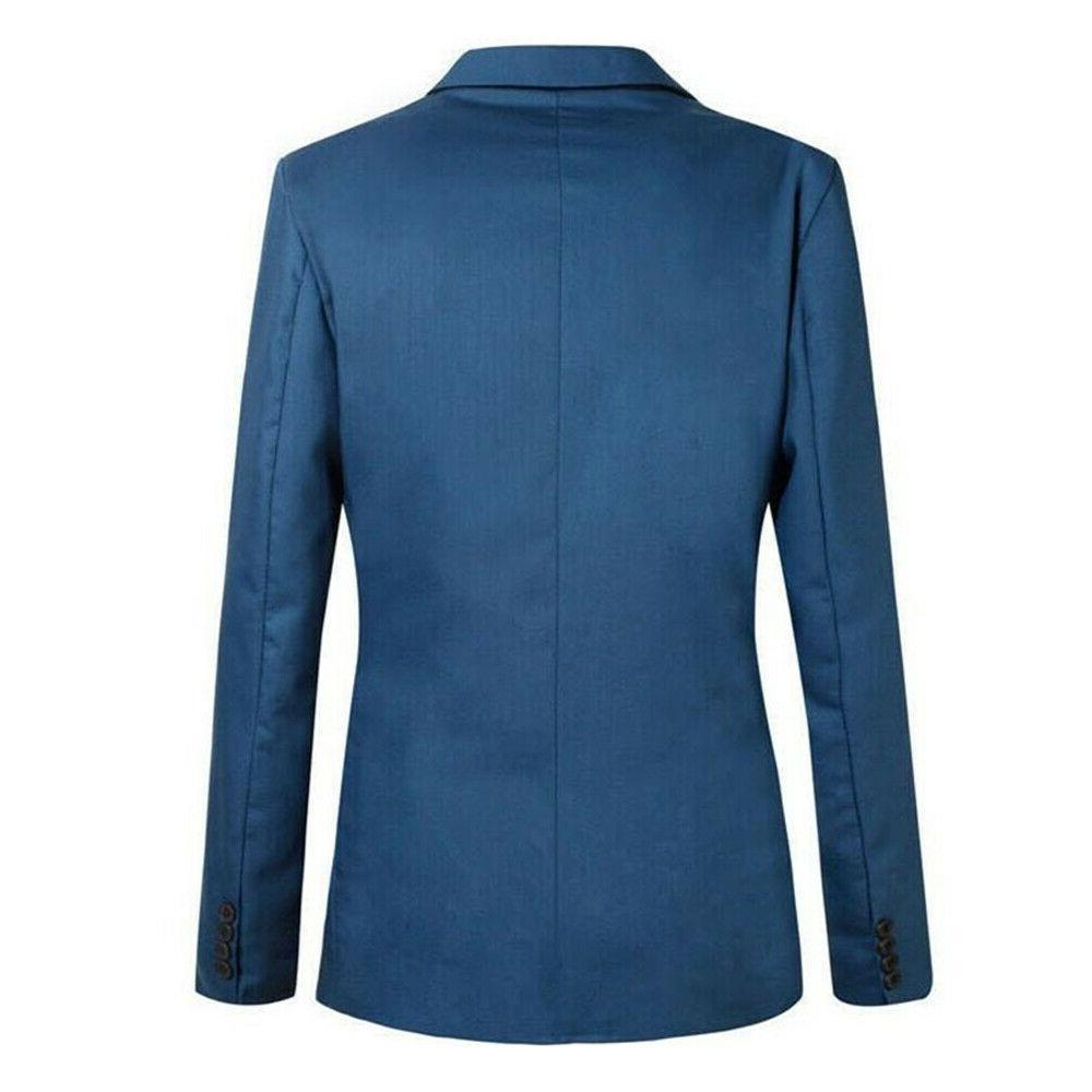 Men's Casual Formal Blazer Coat Business Tops