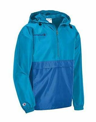 men s colorblocked packable jacket choose sz