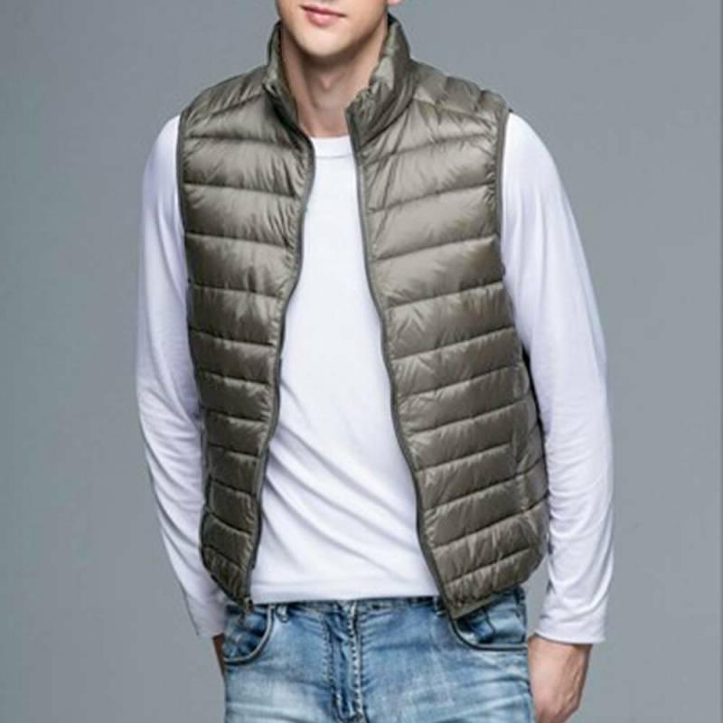 Men's Down Vest Sleeveless Lightweight Warm Outwear Coats