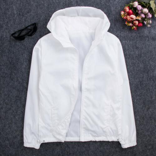 Men's Fashion Windbreaker ZIPPER Jacket Sports Coat New