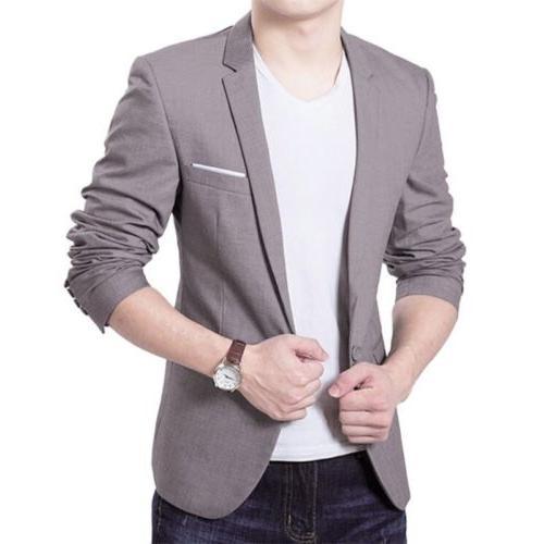 Men's One Business Coat Jacket Tops