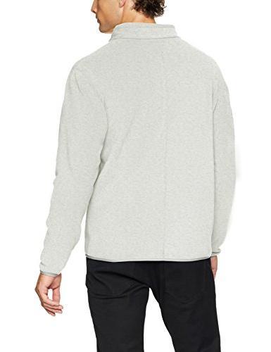 Amazon Men's Polar Fleece Grey X-Large