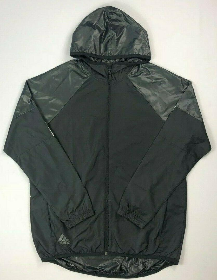 men s full zip windbreaker jacket
