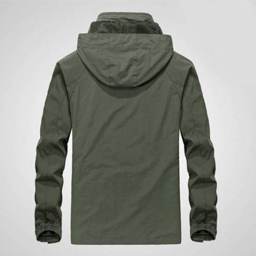Men's Jacket Waterproof Outdoor Rain