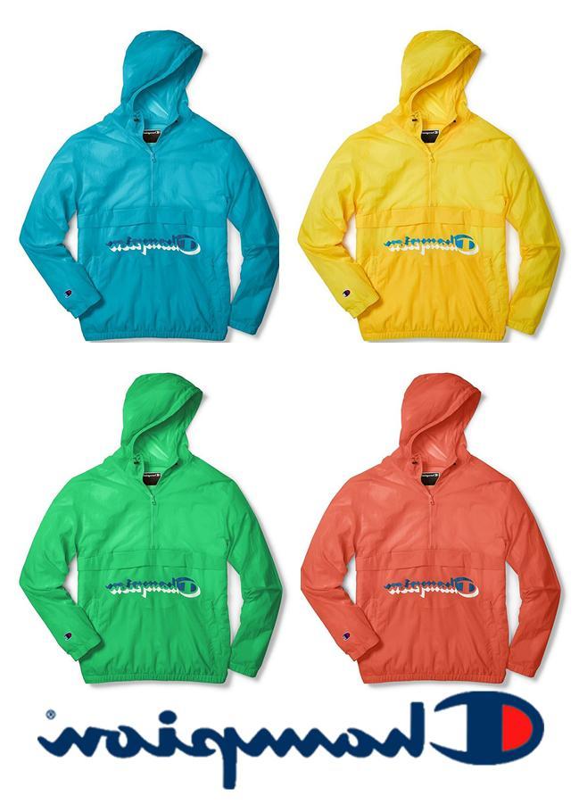 nwt men m life anorak windbreaker jacket