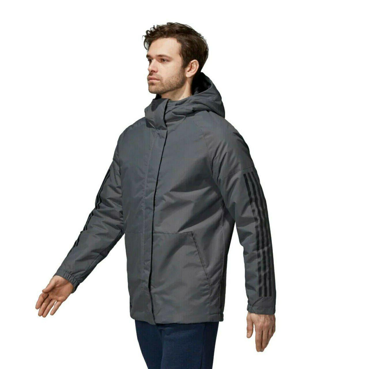 Men's 3 Hooded Insulated Winter Jacket