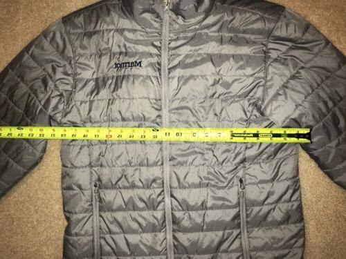 MARMOT Men's Lightweight Puffer Jacket Size MEDIUM ~