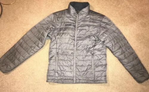men s lightweight puffer jacket size medium