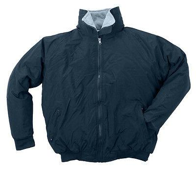 Men's Nylon Three-Season Jacket, Polar Fleece Lined NWT