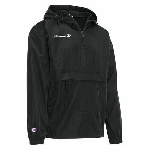 Champion Packable Half-Zip Hooded Jacket