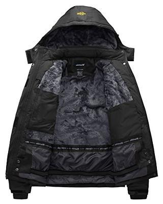 Wantdo Men's Waterproof Jacket Jacket