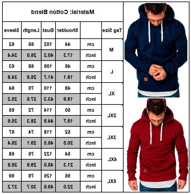 Men's Winter Fit Sweatshirt Outwear Sweater Pullover
