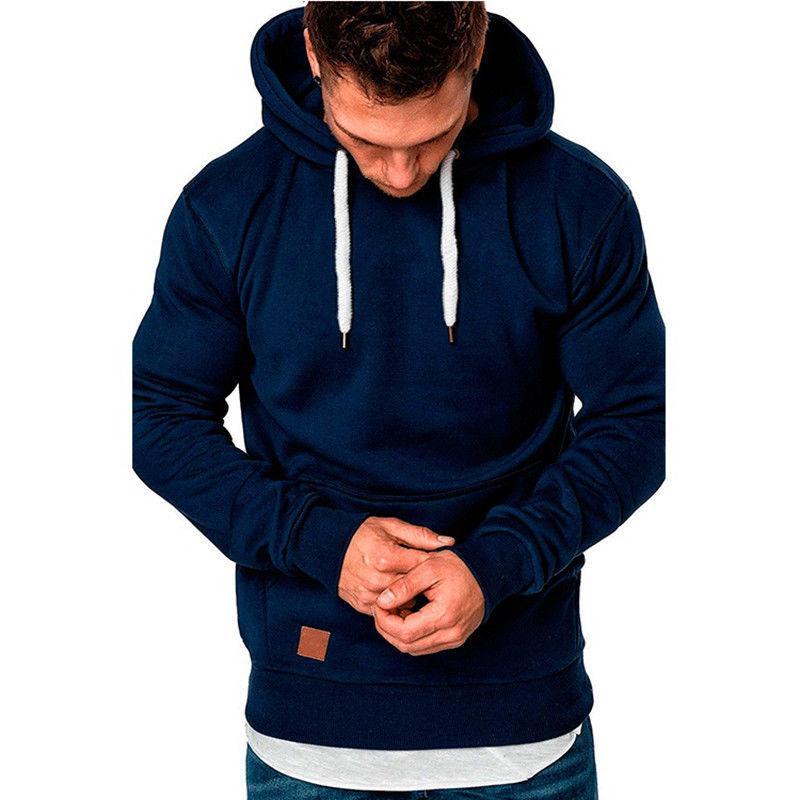 Men's Hoodies Slim Fit Hooded Sweater Jacket Pullover