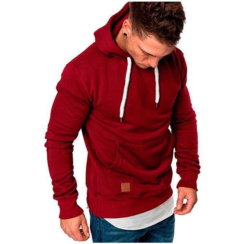 Men's Fit Hooded Sweatshirt Sweater Jacket