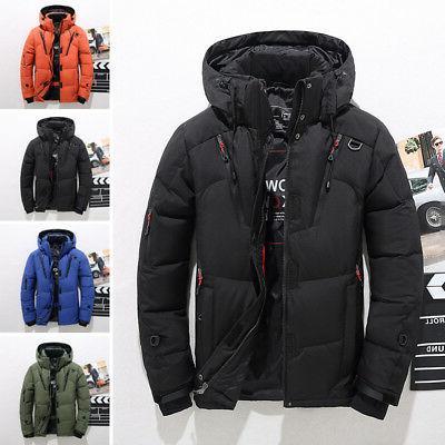 Men's Down Jacket Jacket Snow Coat