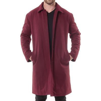 Alpine Swiss Knee Coat Trench Overcoat
