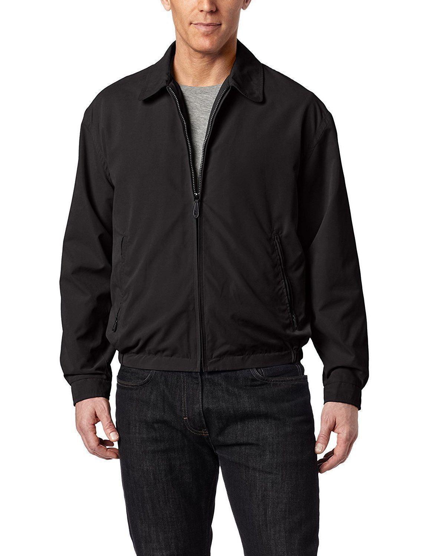 London Fog Men's Zip-Front Golf Jacket XL