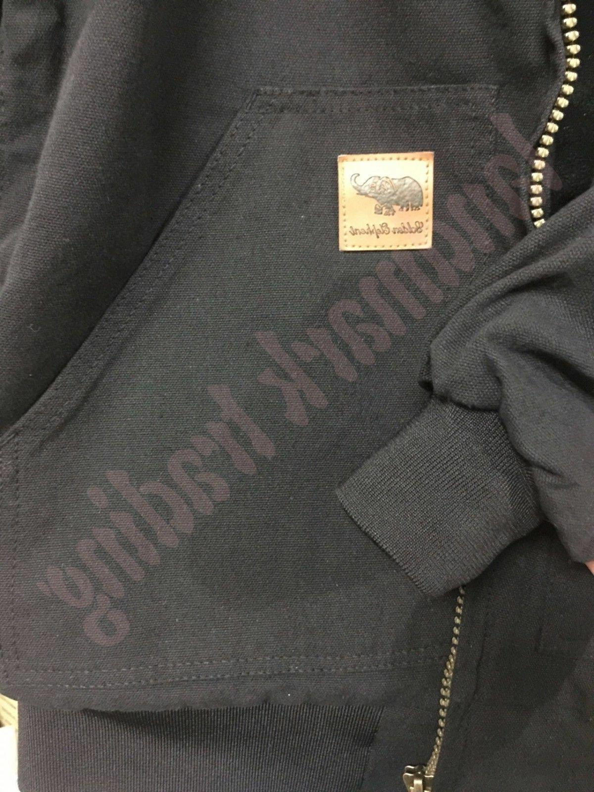 Mens Winter Jacket Coat Canvas Waterproof