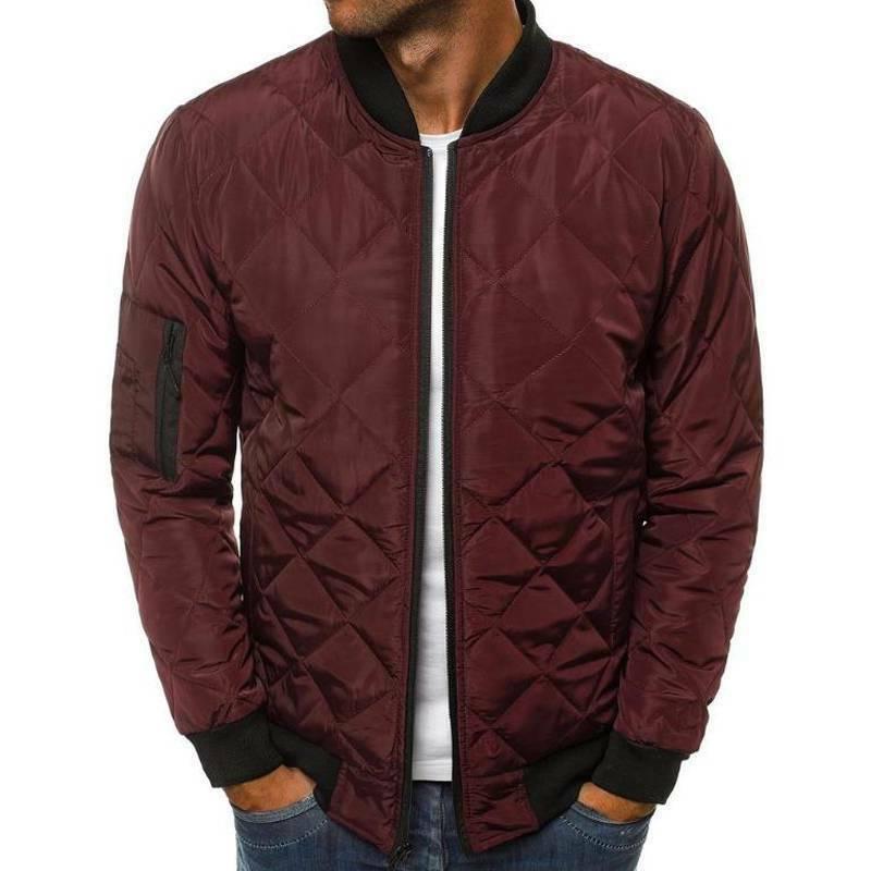 Men Padded Jacket Up Winter Outwear