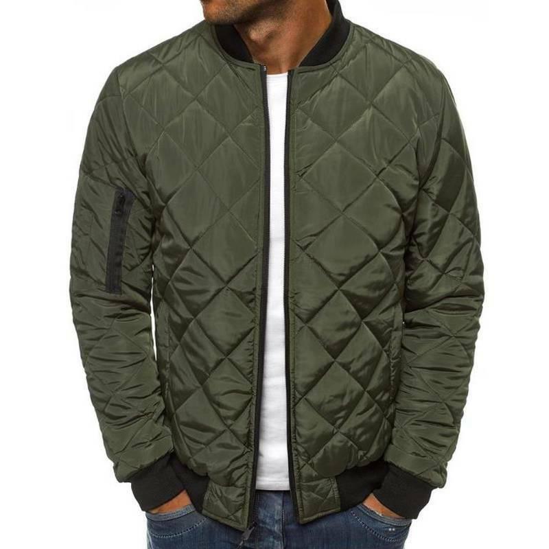Men Padded Puffer Jacket Casual Winter Outwear