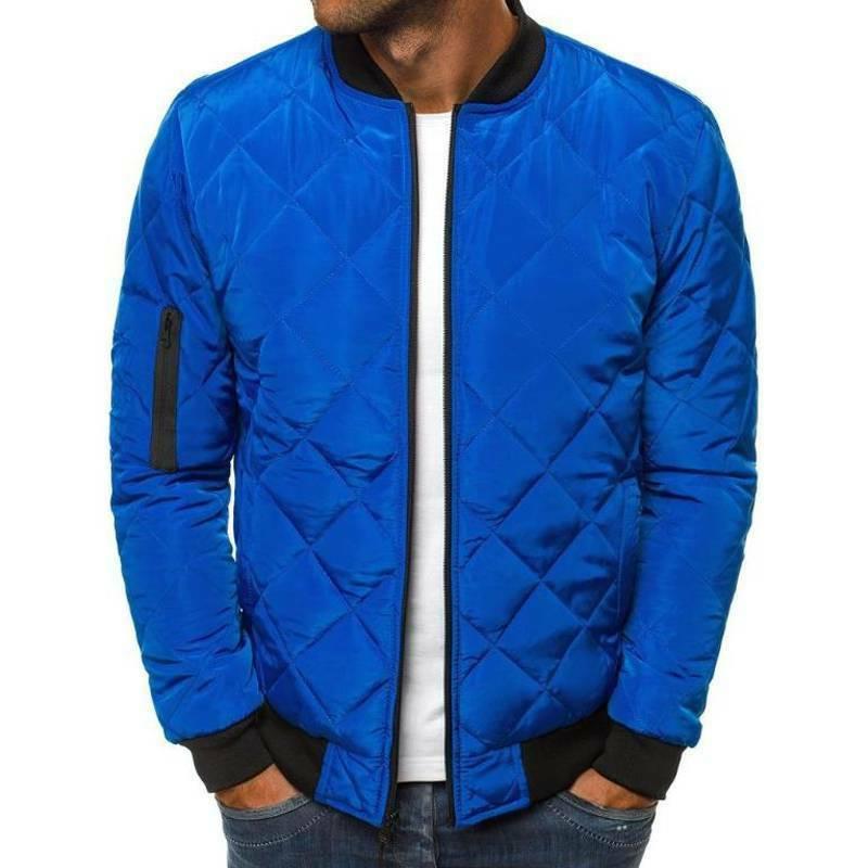 Men Padded Jacket Winter Warm Coat Outwear