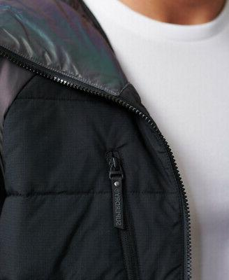 Superdry Mens Holographic Padded