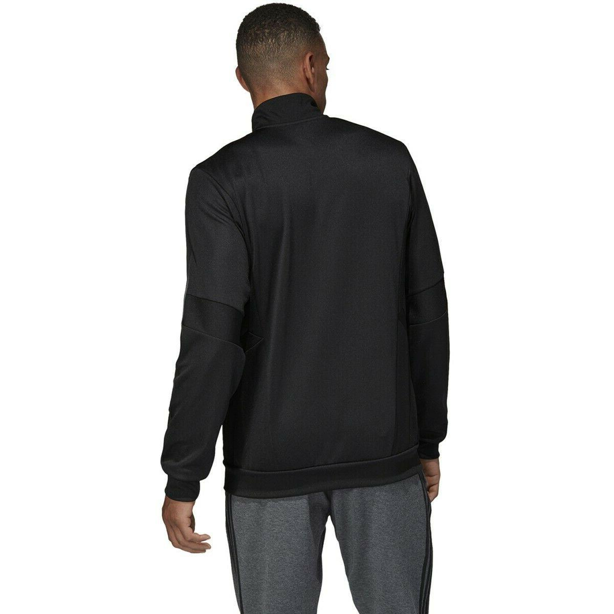 Mens Track Zip Size