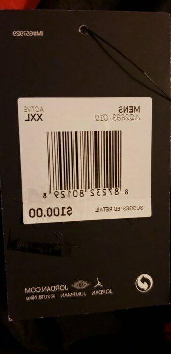 Mens Air Jordan Diamond NEW Size 2XL