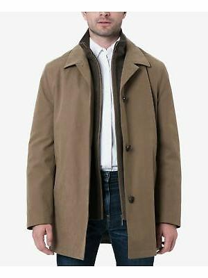 LONDON FOG Mens Beige Jacket Size: XXL
