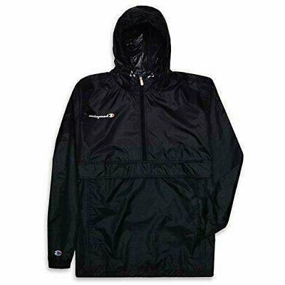 mens big and tall packable lightweight anorak