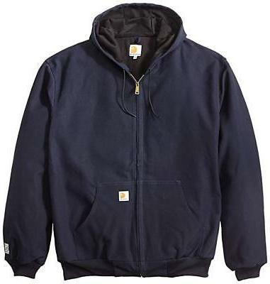 Carhartt Big Tall Thermal-Lined Hoodie Jacket