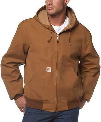 Carhartt Mens Big & Tall Duck Hoodie Jacket J131. LT-6XL